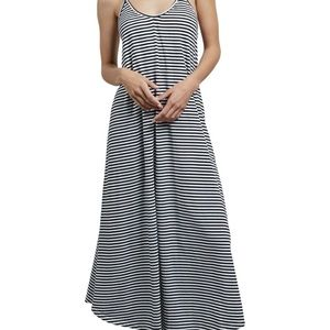 Volcom striped maxi dress